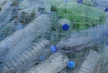 bouteilles plastiques filet