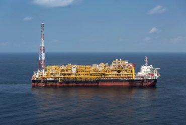 Un navire du groupe Total, compagnie pétrolière française.