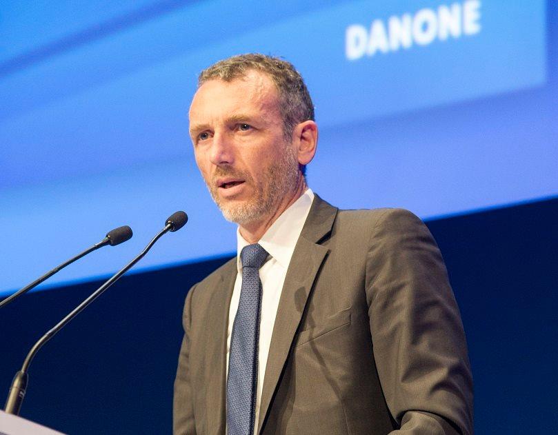 Emmanhuel Faber, PDG de Danone.